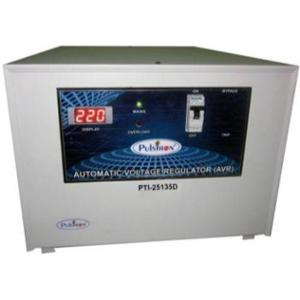Pulstron PTI-25135D 25kVA 135-280V Single Phase Grey Automatic Mainline Voltage Stabilizer