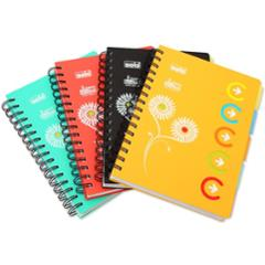 Solo 300 Pages 5 Subjects Note Book, NA553, Size: A5 (Pack of 2)