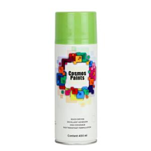 Cosmos 400ml Fluorescent Green Spray Paint, 1003