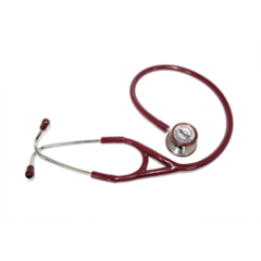 Vkare V-Cardio Red Stainless Steel Master Cardiology Stethoscope, VKB0005