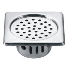 Drizzle 5x5 Inch Square Chrome Finished Stainless Steel Anti Cockroach Trap