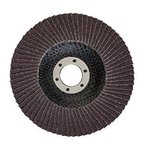 Bosch 100x16mm 60 Grit Flap Disc for Metal, 2608601668 (Pack of 11)