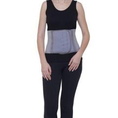 Witzion Medium Abdominal Premium Grey Back Support Belt, WI-14-GREY-M