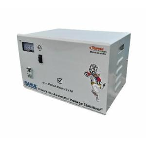 Rahul Base-10 C10 10kVA 40A 140-280V 3 Step Copper Automatic Voltage Stabilizer for Mainline Use