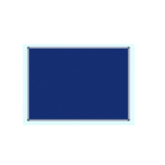 Standard 1.5x2 Ft Blue Notice & Pin Up Board