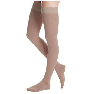 Maxis Beige Cotton Medi Medical Compression Stocking Thigh Length, Size: L