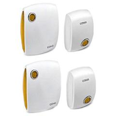 Cona Cordless Wireless Door Bell with Remote (Pack of 2)