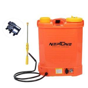 Neptune 16 Litre Orange Knapsack Battery Operated Garden Sprayer, BS-13-Plus
