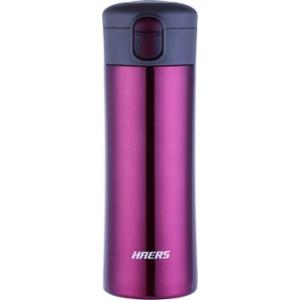 Haers 420ml Stainless Steel Red Vacuum Tumbler, HW-420-32-RED