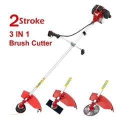 Neptune 1.46 kW 3 in 1 Red Brush Cutter with 3 Blades, BC-520
