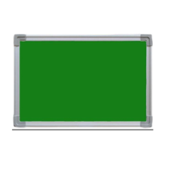 Standard 2x3 Ft Green Notice & Pin Up Board