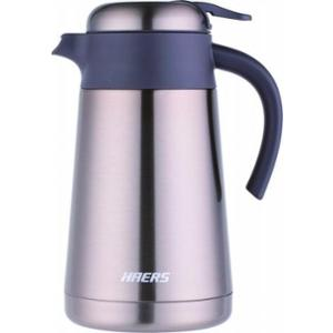 Haers 2200ml Stainless Steel Gold Coffee Pot, HK-2200-9-GLD