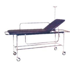 Aar Kay 210x56x81cm Patient Trolley with Fixed Cushioned