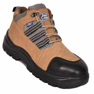 Allen Cooper AC 9005 Antistatic Steel Toe Brown Safety Shoes, Size: 11