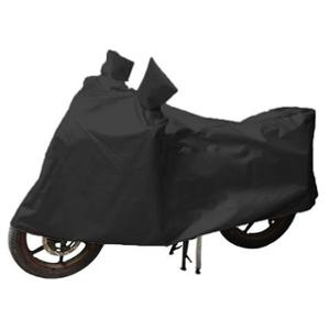 Uncle Paddy Black Two Wheeler Cover for Bajaj Pulsar