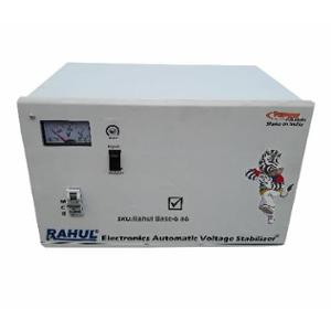 Rahul Base-6 A6 6kVA 24A 140-280V 3 Step Automatic Voltage Stabilizer for Mainline Use
