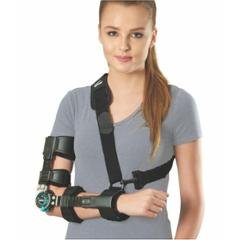 Tynor ROM Black Right Elbow Brace, Size: Universal