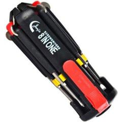 Aeronox 8 in 1 Screwdriver with LED Light, 100 g