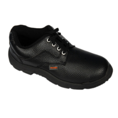Liberty Freedom Steel Toe Black Safety Shoes, Size: 6