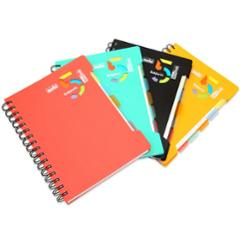 Solo 300 Pages 5 Subjects Note Book, NA554, Size: A5 (Pack of 2)