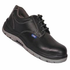 Allen Cooper AC 1102 Antistatic Steel Toe Black & Grey Safety Shoes, Size: 5