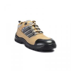 Allen Cooper AC 9005 Antistatic Steel Toe Brown Safety Shoes