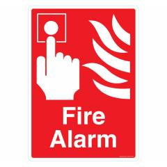 Safety Sign Store Fire Alarm Sign Board, GS208-A4PC-01