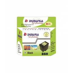Dubaria 860 Black Ink Cartridge For HP Printers