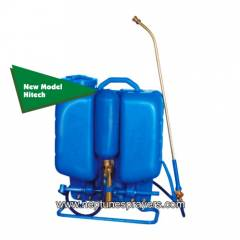 Best Sprayer Gold-41 Blue Knapsack HDPE Tank Hitech with 8 Nozzle Set Garden Sprayer, Capacity: 16 L