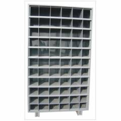 GK Steel Medium Duty Pigeon Hole Rack, Load Capacity: 100-500kg/Layer