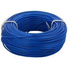 RISTACAB 90m Blue PVC Unsheathed Flexible Copper Cable, 1.5 sq mm