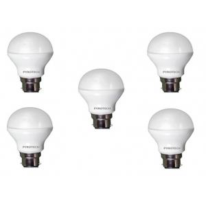 Pyrotech 7W Cool White LED Bulb, PELB07X5CW (Pack of 5)