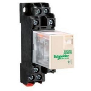 Schneider 5A 36VDC Plug in Miniature Relay with LED, RXM2LB2CD