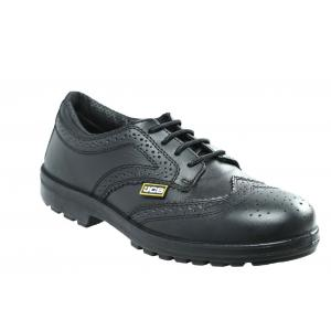 JCB Executive Steel Toe Black Safety Shoes