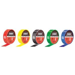 Steelgrip Electrical Black Tapes, Length: 6.5m (Pack of 30)