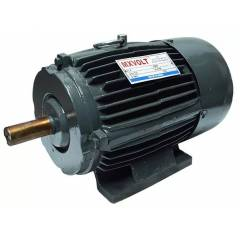 MXVOLT 1 HP 4 Pole Three Phase Foot Mounted Induction Motor