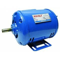 MXVOLT 0.5 HP 4 Pole Single Phase Foot Mounted Induction Motor