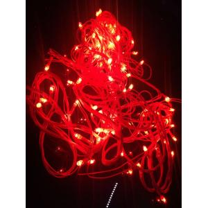 Blackberry Overseas 7m Red Colour Decorative Rice LED Light (Pack of 2)