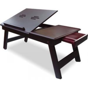 Home Store IBS Adjustable Study Engineered Wooden Portable Laptop Table, WLT4