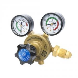 Ador King Single Stage Oxygen Gas Gas Regulator with Two Gauges