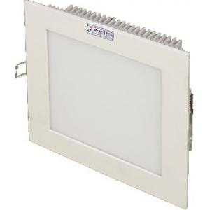 Pyrotech 3W Cool White Square LED Flat Panel Light, PE13DLW3OB