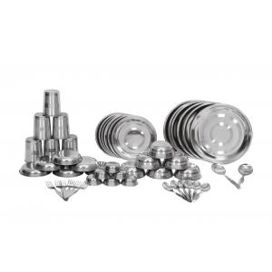 Scitek 50 Pieces Silver Superior Stainless Steel Dinner Set