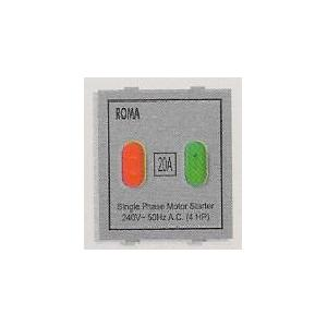 Anchor Roma 20A Motor Starter Switch(Pack Of 10)