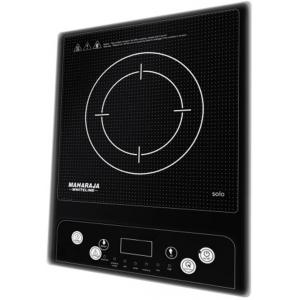Maharaja Whiteline Solo 1400W Black Induction Cooktop