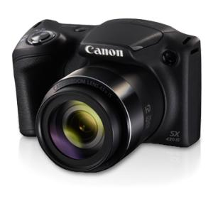Canon PowerShot SX430 IS 20 MP Compact Black Digital Camera