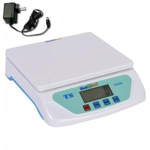 Stealodeal 25kg White Digital Weighing Machine with Adapter, TS-500