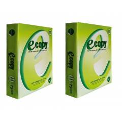Ecopy 75 GSM A4 Size White Copier Paper (Pack of 10)