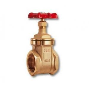 CIM 70B Brass Gate Valve PN-16 with SCD End, Size: 20 mm