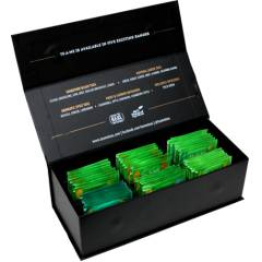 TE-A-ME 48 Greens Tea Bags Collection with Black Gift Box