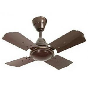 Aircool 850rpm 4 Blade Brown Ceiling Fan, Sweep: 600 mm